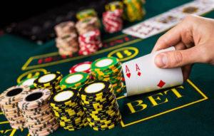 關於二十一點職業賭徒的試煉